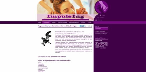 Impulsing – Stoelshiatsu in Haren, Eelde, Groningen